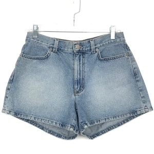 "J Crew 10"" Rise Light Wash Denim Shorts sz 6"